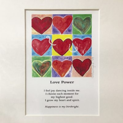 Art Print – Love Power